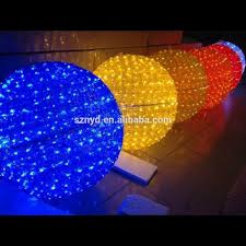 outdoor lighting balls
