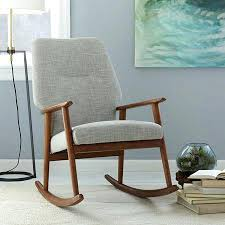 Upholstered Nursery Rocking Chair Upholstered Nursery Rocking Chair S Upholstered Rocking Chair For