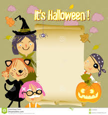 halloween kids cartoons halloween kids background stock images image 21249834