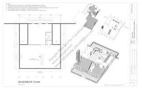 house plans with basement 24 x 44 cabin blueprints sds plans