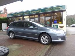 peugeot diesel estate cars for sale second hand peugeot 407 2 0 hdi 140 sport 5dr for sale in beccles