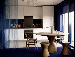 raumteiler küche esszimmer stilvolle vorhang als raumteiler ideen