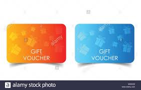 gift card discount gift voucher discount coupon flat vector illustration stock