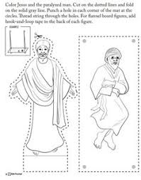 paper cup puppet walking leaping and praising god