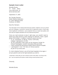 collection of solutions cover letter sample for medical lab