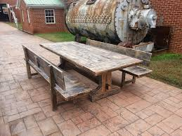 tips on build your own set rustic outdoor furniture