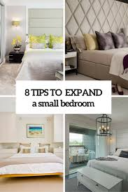 small bedroom tips 8 practical tips to visually expand a small bedroom digsdigs