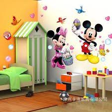 Mickey Mouse Room Decor Disney Wall Art Kids Playroom Mickey Mouse Shape Hanging Mount
