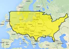 united states map and europe uk us size comparison mapcompareunitedstateseuropepng uk europes