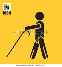 Blind Man Cane Blindman Stock Photos Royalty Free Images U0026 Vectors Shutterstock