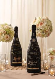wine bottle wedding guest book 79 best wedding chagne images on glitter bottles