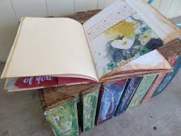 process video from composition book to shabby chic journal youtube