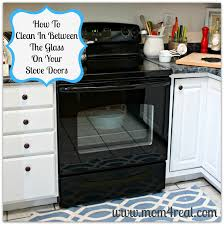 Cleaning Ceramic Glass Cooktop How To Clean An Oven Door In Between The Glass Mom 4 Real