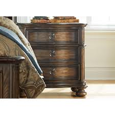 Small Nightstand With Drawers Liberty Furniture Tuscan Valley Nightstand With 2 Dovetail Drawers