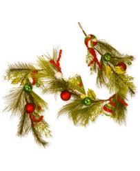 national tree company 6 hydrangea pine garland for