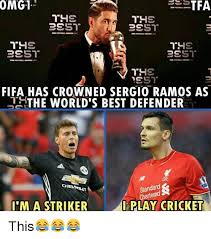 World S Best Memes - omg1 fifa has crowned sergio ramos as the world s best defender
