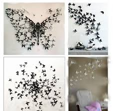 Butterflies Wall Decorations 3d Butterfly Wall Art Home Design