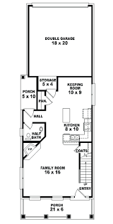 home plans and more apartments narrow floor plans howard lake narrow lot home plan d