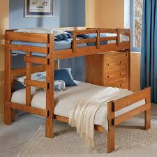 Bunk Beds L Shaped Chelsea Home L Shaped Bunk Bed With 4 Drawer Chest