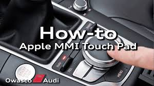 audi touchpad how to audi mmi touch pad audi a3 owasco audi