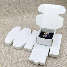 box cincin 2017 putih cincin kotak 40x40x25mm 300gsm kertas karton box cincin