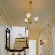 Foyer Light Fixture Victorian Era Foyer Lighting Brass Light Gallery