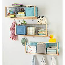 Wire Shelving Desk Kids Shelves U0026 Wall Cubbies The Land Of Nod