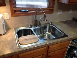 how to install a kitchen sink in a new countertop kitchen sink install installing kitchen sink installation can you