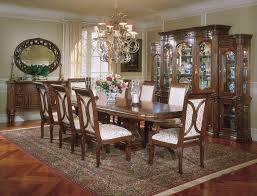 Dining Room Set With China Cabinet Formal Contemporary Dining Room Sets With Brown Finish Classics