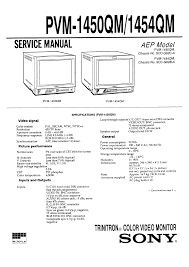 sony pvm1450qm service manual immediate download