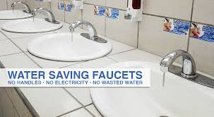 Water Conservation Faucets Instant Off Automatic Water Saver Faucets Automatic Faucet