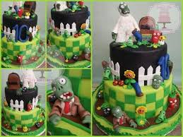 Plants Vs Zombies Cake Decorations 96 Best Plants Vs Zombie Party Images On Pinterest Plants Vs