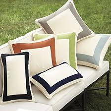 monogrammed outdoor pillows ballard designs