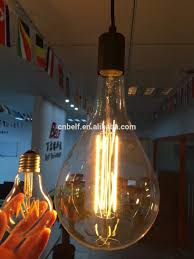 bf a165 big size dimmable filament bulb lights led view bulb