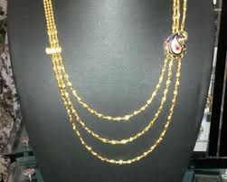 gold colour chain necklace images Multilayered golden colour chain jewelry kozhikode 136492503 jpg