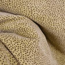Wool Drapery Fabric Siamese 1010 Fawn Chenille Animal Print Reversible Fabric