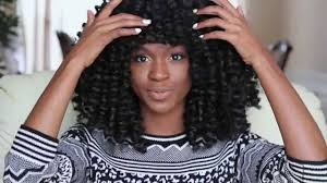 difference between afro twist and marley hair how to make a marley afro twist crochet wig with bangs protective