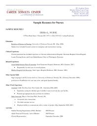 exles of resumes for nurses sle rehab resume resume