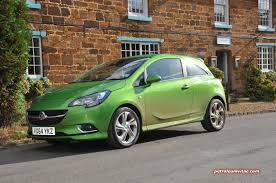 green opal car new for 2015 vauxhall corsa first impressions petroleum vitae