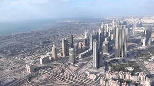 view from burj khalifa u0027s