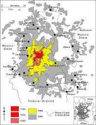 map of mexico cities where does mexico city get its water geo mexico the geography