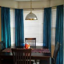 Gold And Blue Curtains Decor Enchanting Interior Decor Ideas With Exciting Curtain Rods