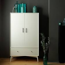 West Elm Bedroom Furniture by West Elm Mid Century Wardrobe White Chifforobes U0026 Wardrob