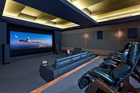 best home theater design photo of fine home theatre interior
