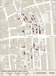 Chinatown Chicago Map by Emergence Wwi Wwii Chinatown Atlas