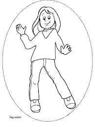 family color coloring pages kids