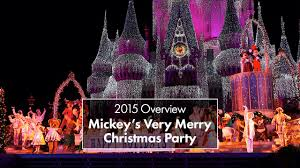 mickey u0027s very merry christmas party 2015 youtube
