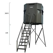 asf deer blind big chingon on 8ft stand
