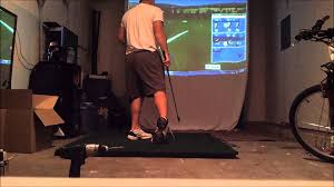 diy home golf impact screen p3proswing v6 practice test p3live
