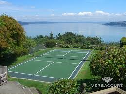 Backyard Tennis Courts by Commercial U0026 Backyard Pickleball Courts By Versacourt